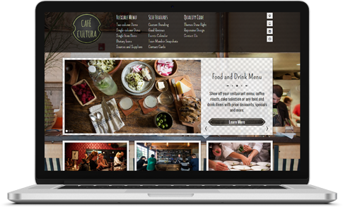 Thumbnail preview of CaféCultura WordPress theme