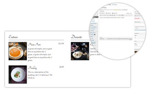 Thumbnail preview of Food and Drink Menu